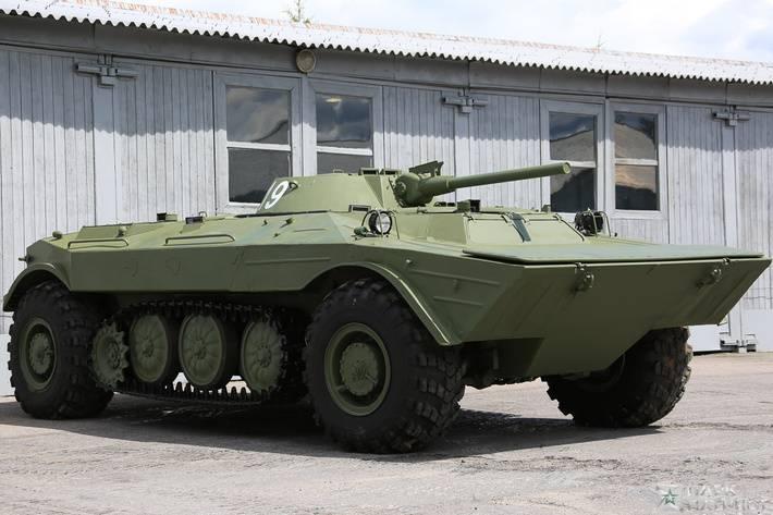 В Центральный музей бронетанкового вооружения и техники  вернулась уникальная БМП «Объект 19»