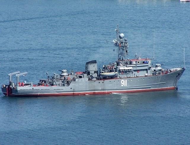 Корабли ЧФ выполнили стрельбы у берегов Крыма
