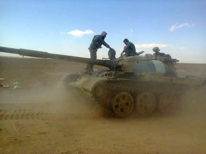 Сирийская армия прорвала оборону ИГИЛ по направлению к Дейр-эз-Зору