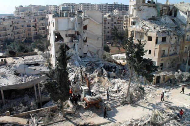 """समूह """"हयात तहरीर अल-शाम"""" ने सीरिया के इदलिब पर कब्जा कर लिया"""