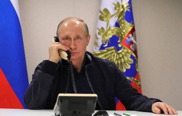 """Лидеры """"нормандской четверки"""" провели телефонные переговоры"""