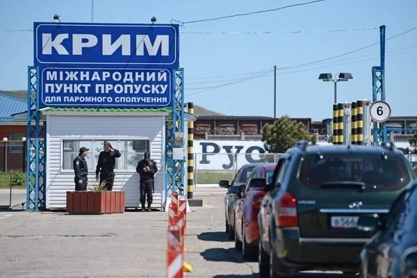 Украина создала вербовочные пункты на границе с Крымом