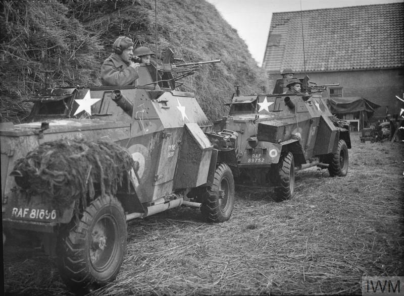 차 세계 대전의 바퀴 장갑 차량. 14의 일부. 장갑 차량 Humber (영국)