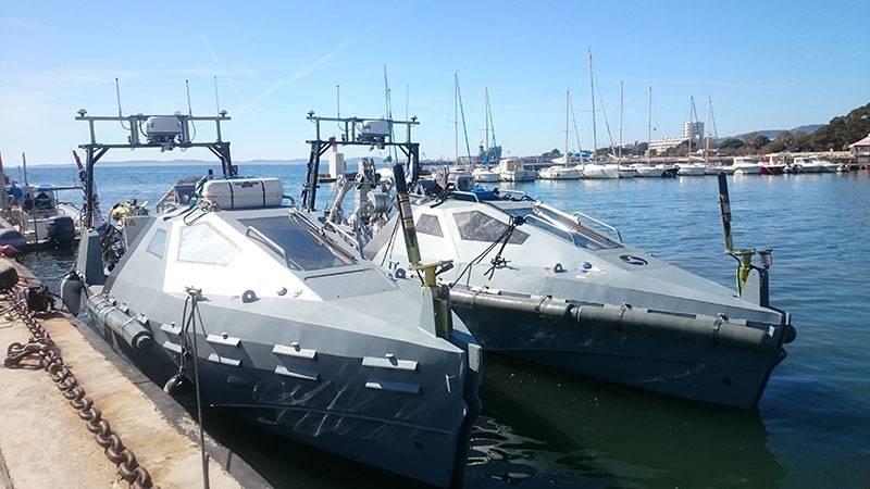 Франция поставила ВМФ РФ второй комплект противоминной системы