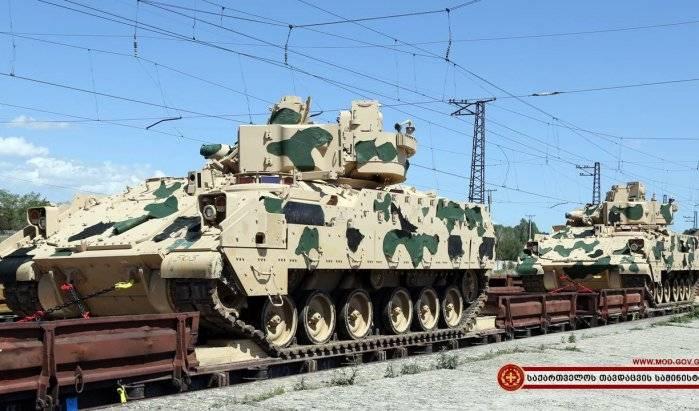 ВГрузии начались многонациональные военные учения НАТО