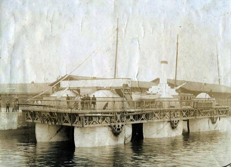 Экспериментальное скоростное судно Ernest Bazin (Франция)