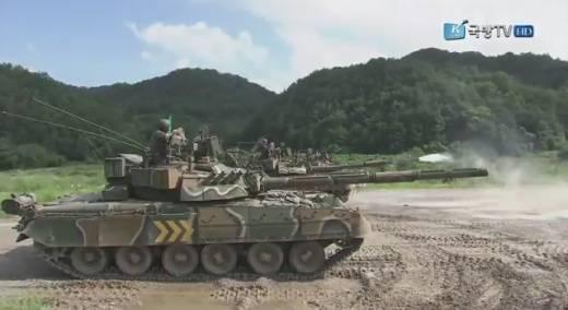 Т-80У в Южной Корее