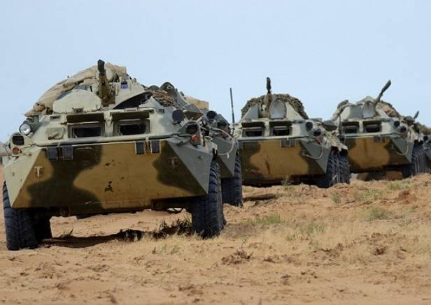 В Бурятии началась масштабная передислокация войск