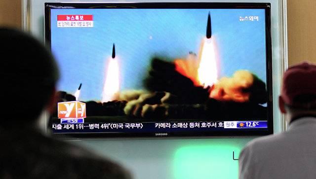 КНДР провела очередной ракетный пуск