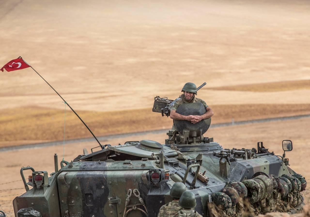 Курдские СМИ говорили о турецких войсках врайоне Кобани вСирии