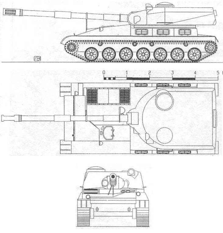 САУ. Самоходная артиллерийская установка «Объект 120»