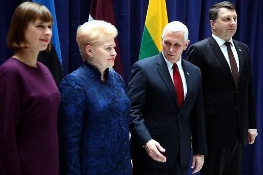 Президент Литвы рассказала Пенсу о'новой угрозе со стороны России