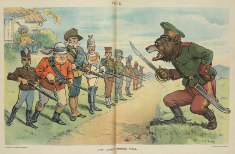 Французская карикатура времен Крымской войны (1853-1856)