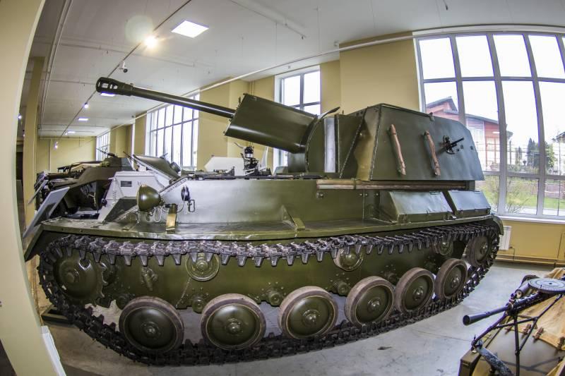 Немного о СУ-76М.