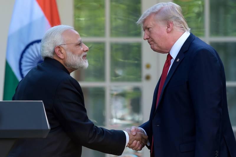 Индийский форпост Вашингтона