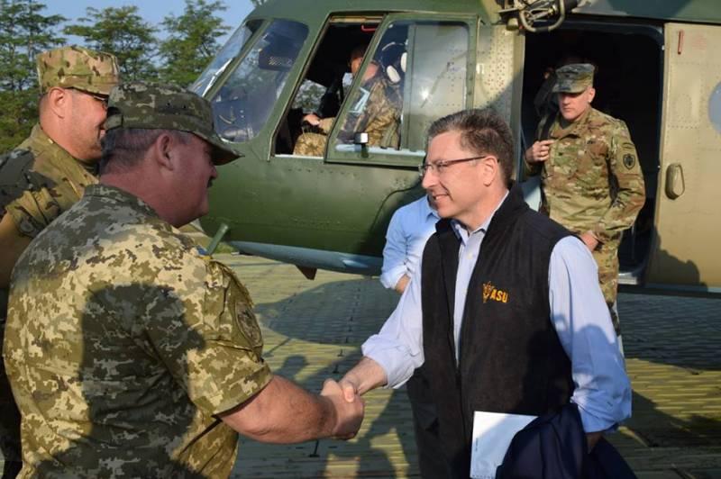 Спецпредставитель США: на востоке Украины идет «горячая война»