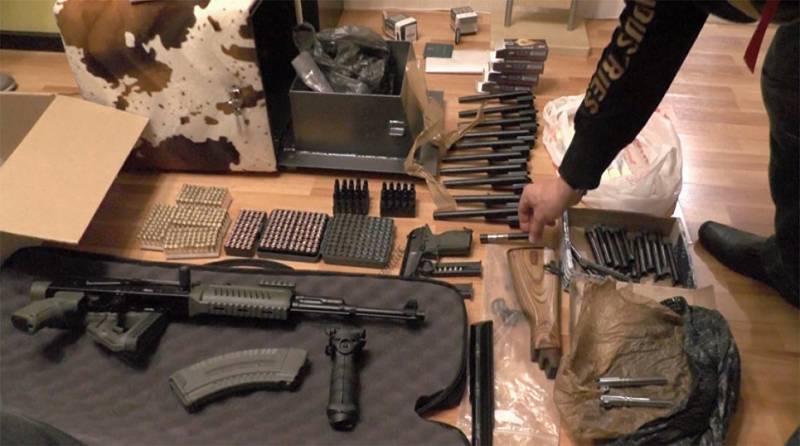 В Москве задержана группа неонацистов, торговавшая оружием