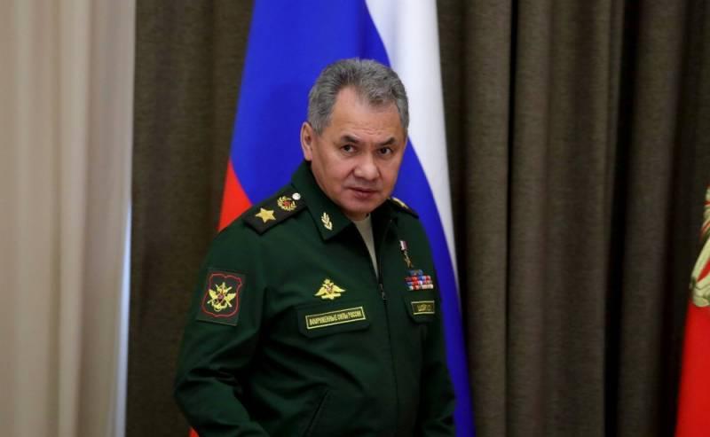 Шойгу: ряд стран наращивает военное присутствие у российских границ