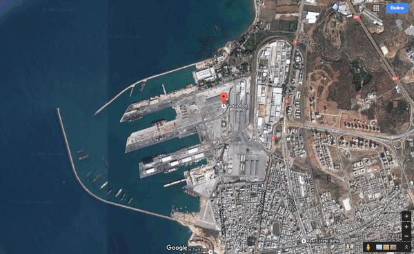 타르 투스 (Tartus)의 러시아 해군 (Russian Navy)에 기초하여 반대로 사보타주