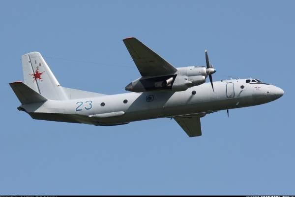 키르키즈 군은 러시아에서 2 대의 An-26 항공기를 인수한다.