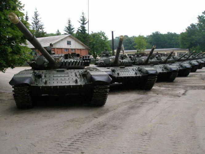 우크라이나 방위 산업 단지는 얼마나 많은 T-72 탱크가 육군과 함께 근무하고 있는지에 대해 말했습니다