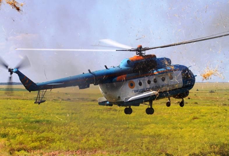 Украинский завод «Авиакон» приступил к ремонту вертолетов Ми-14