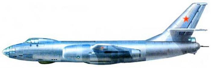 Бомбардировщики Ил-46 и Ил-46С