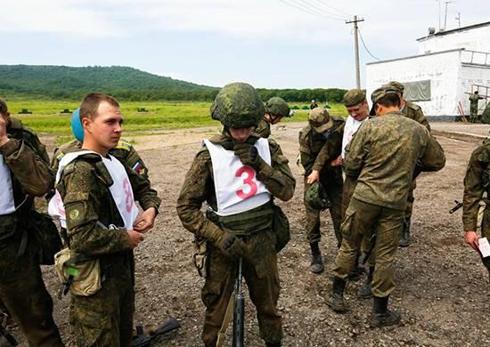 Военные строители подготовили к соревнованиям «тропу разведчика»