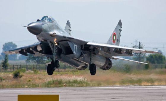 """불가리아 국방부는 MiG-29 전투기의 현대화에 대한 RAC """"MiG""""와 협상 중이다."""