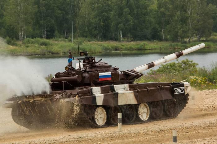 Российские танкисты побили абсолютный рекорд в индивидуальной гонке конкурса АрМИ-2017 «Танковый биатлон»