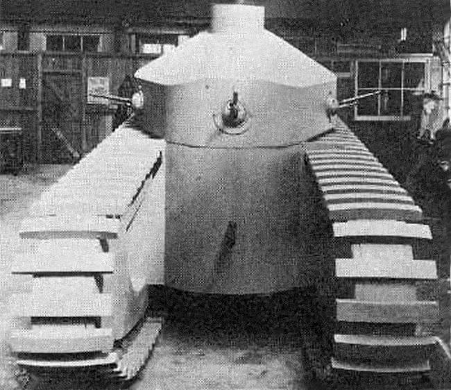 Средний танк Medium Tank Mark D (Великобритания)