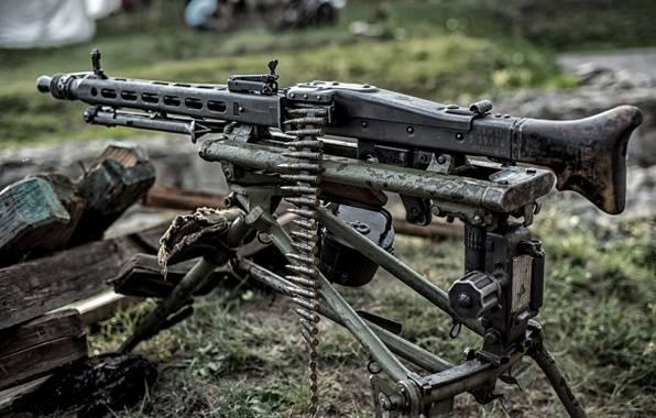 Рассказы об оружии. Пулемёт MG 42