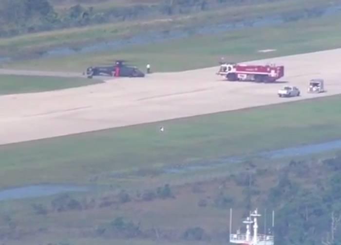 Nos EUA, caiu um novo helicóptero de alta velocidade S-97 Raider