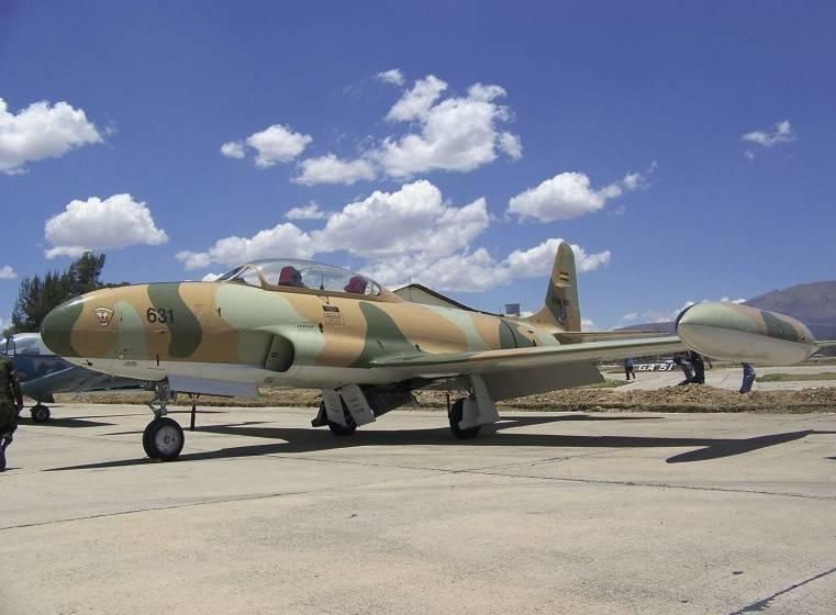 세계 최후의 T-33가 서비스를 그만 뒀다.
