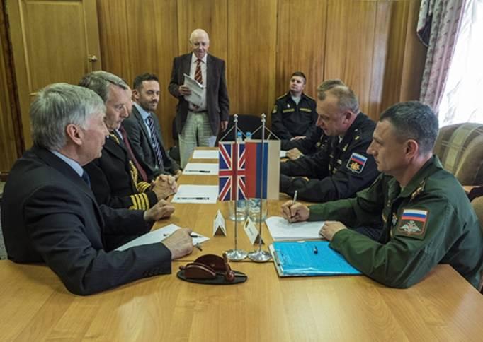 Британская делегация прибыла на Северный флот