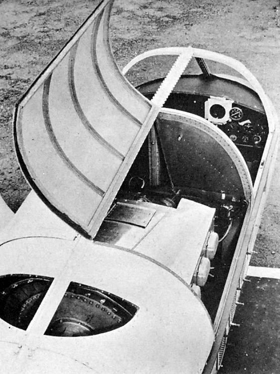 Aereo sperimentale Vanguard Omniplane (USA)
