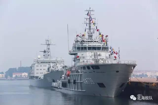 중국 해군이 가장 큰 잡아 당김을 옮겼습니다. Bei Tuo 739