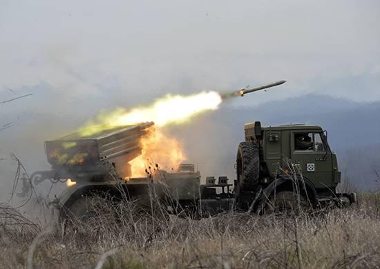 Gli artiglieri del distretto militare meridionale iniziarono a lavorare sul campo