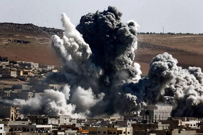 La coalizione statunitense ha colpito con bombe al fosforo nell'ospedale di Rakka