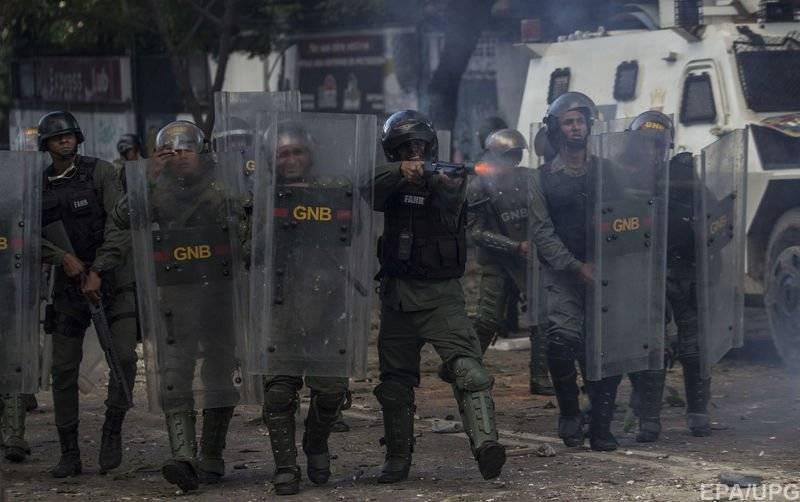 Американские наемники напали на военную базу Венесуэлы