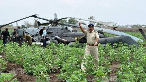 В Индии за три года разбилось 37 самолетов и вертолетов