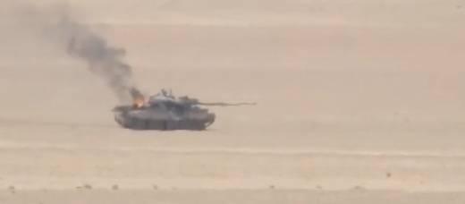 In Siria, abbattuto T-62M