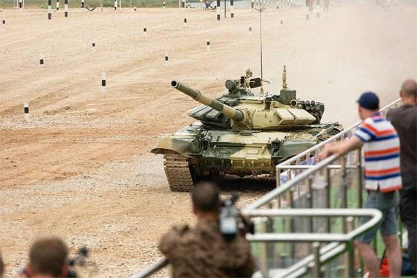 Почему команд стран НАТО нет на танковом биатлоне в РФ?