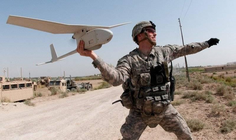 미국 UAV 레이븐은 Donbass에서 비효율적이었습니다.