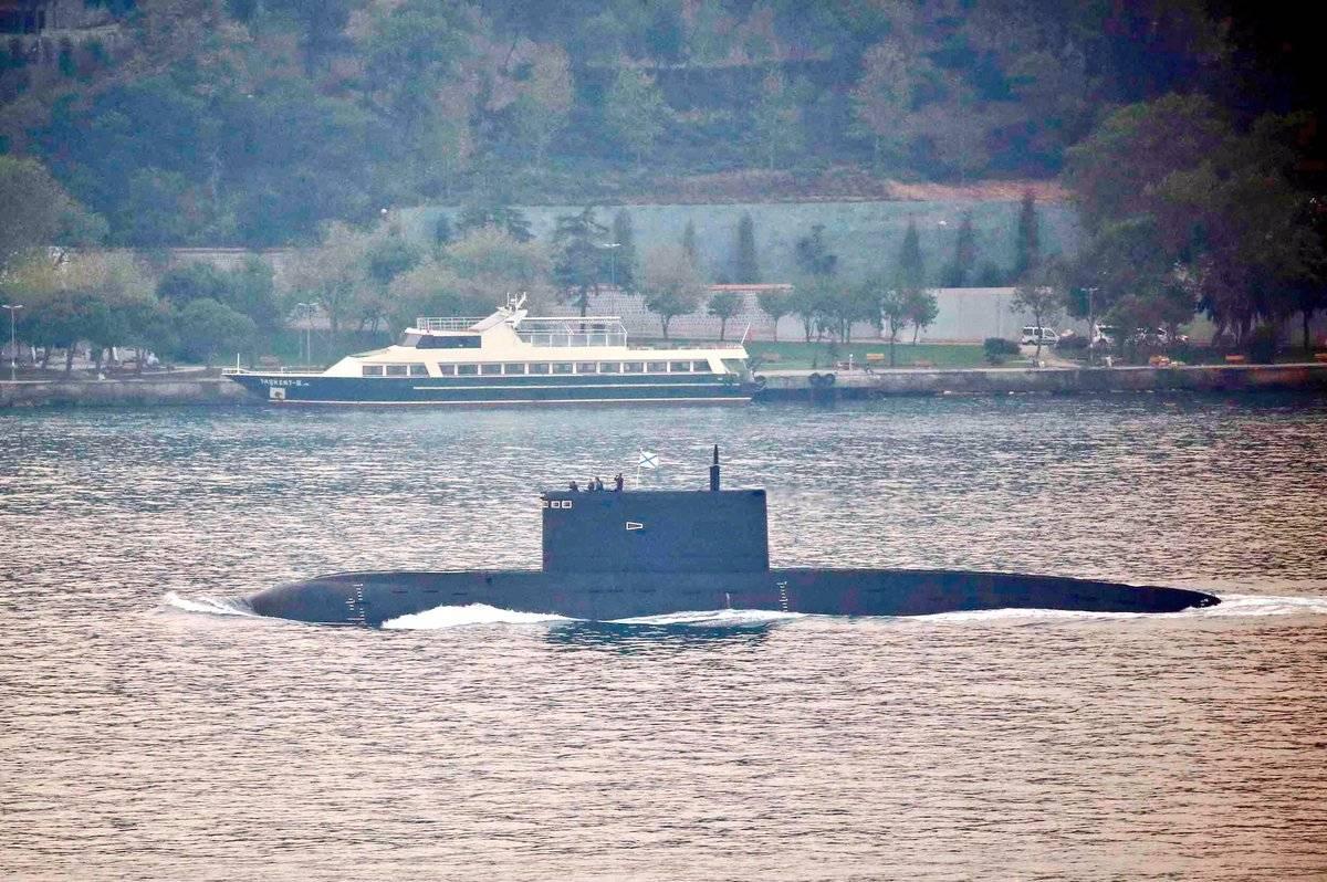4-ая подлодка класса «Варшавянка» сракетами «Калибр» прибудет вСевастополь