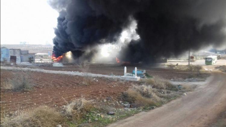 ABD Irak milislerine isabet etti