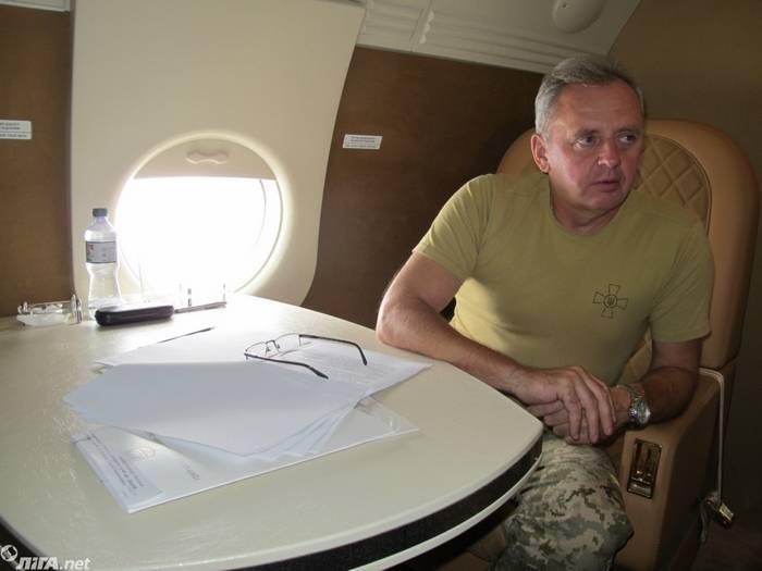 Muzhenko ha riportato la perdita delle forze di sicurezza dall'inizio dell'operazione nel Donbass