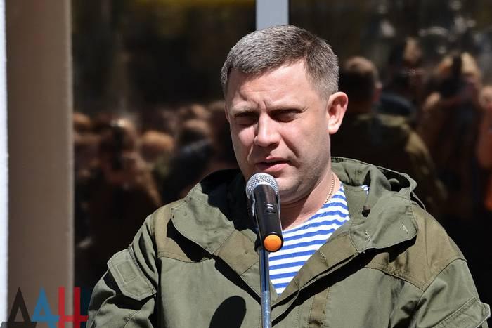 Захарченко не исключил обострения ситуации на фронте в самое ближайшее время