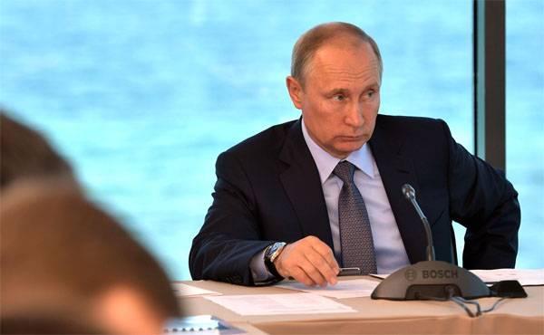 Vladimir Putin è arrivato in Abkhazia in visita