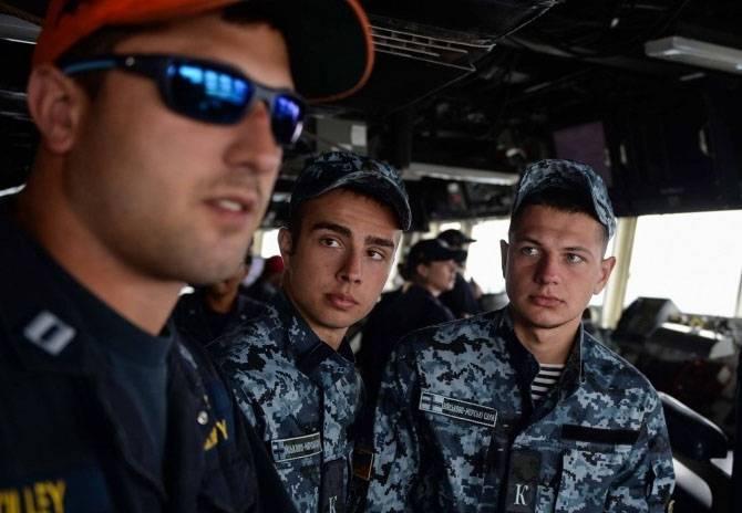 "Украинским курсантам разрешили пройти военно-морскую практику на эсминце ""Дональд Кук"""